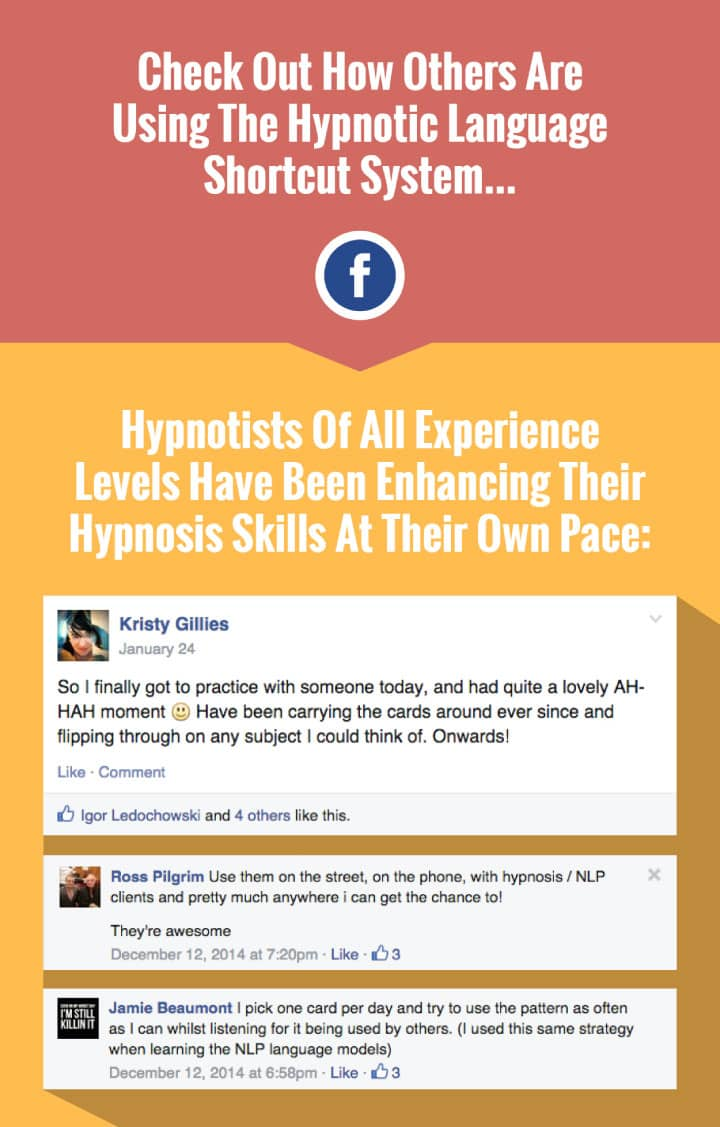 Check Out how others are using the Hypnotic Language Shortcut System
