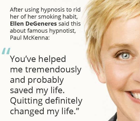 Ellen DeGeneres Hypnosis Quote