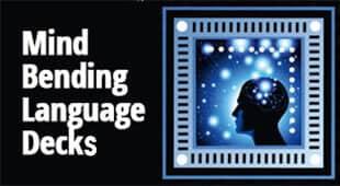 Mind Bending Language Card Decks