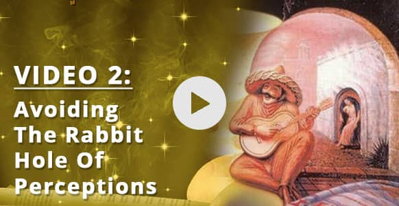 """[VIDEO 2 of 3] Stop… It's A Trap! How To Avoid The """"I'm Not Good Enough"""" Rabbit Hole In Your Hypnosis Practice & Look Beyond Illusions"""