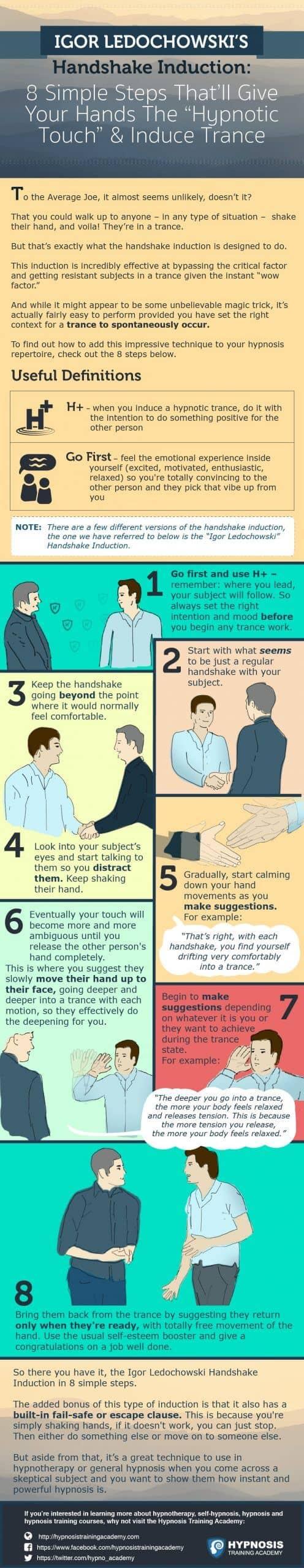 Handshake Trance Induction