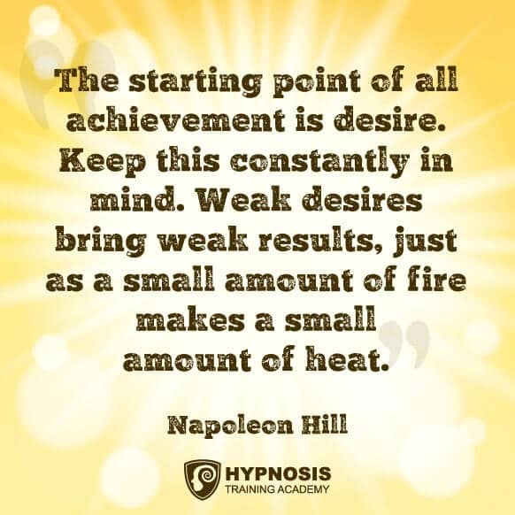 weight loss quote napolean hill