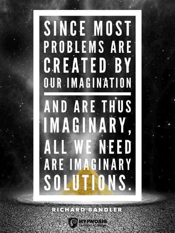 richard bandler quotes imagination solution