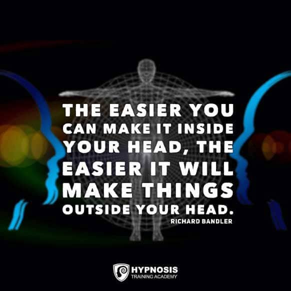 richard bandler quotes make things outside head