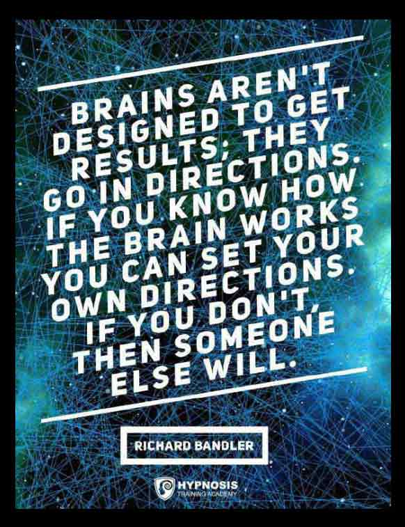 richard bandler quotes brain hypnosis