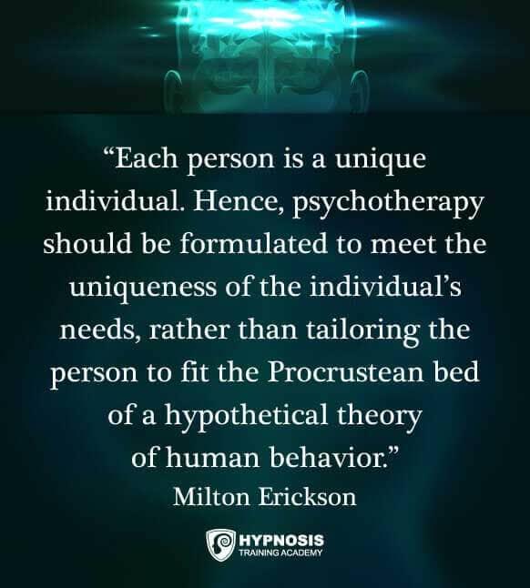 milton erickson quotes hypnotherapy