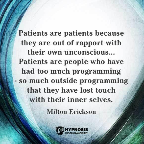 milton erickson quotes hypnosis unconscious