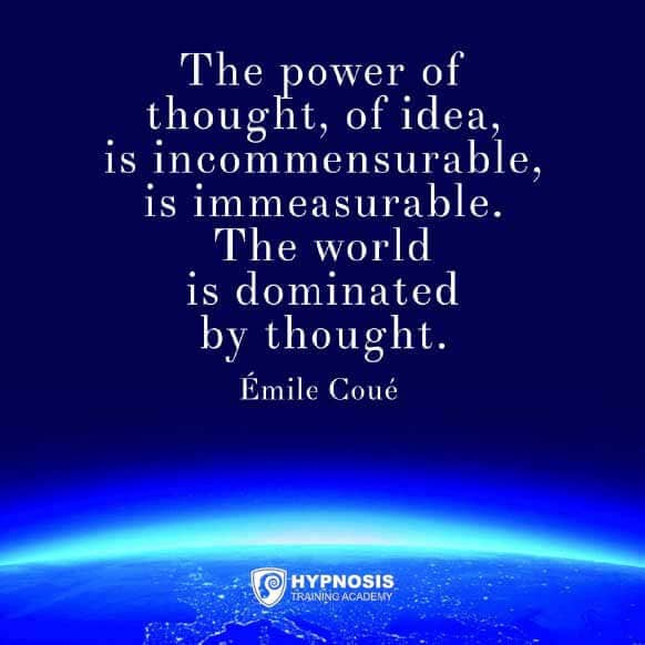 emile coue quotes immesurable thought