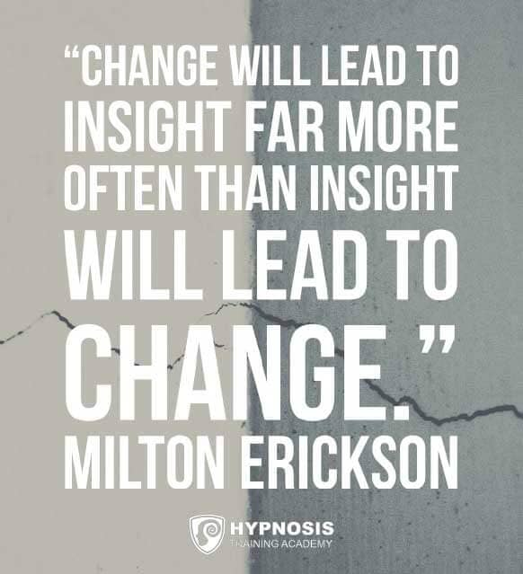 milton erickson quotes change insight