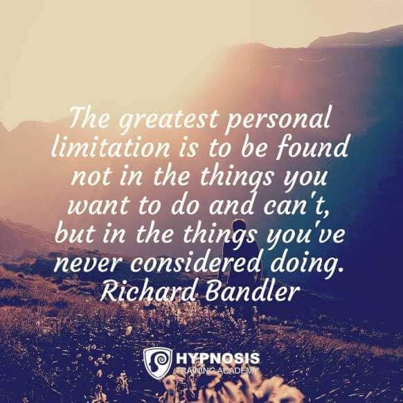 richard bandler quotes greatest personal limitations
