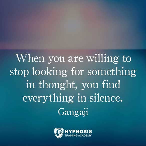 gangaji quotes meditation hypnosis