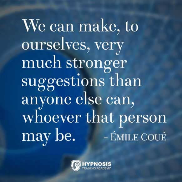 emile coue quotes suggestions