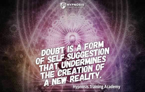 hypnosis quotes doubt