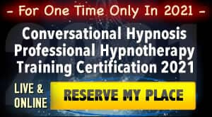 Conversational Hypnosis Prof. Hypnotherapy Certification Training