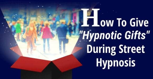 "[VIDEO] How To Skillfully Give ""Hypnotic Gifts"" During Street Hypnosis Using Elman's Pretend Frame & The Ericksonian Priming Approach – Part 1 & 2"