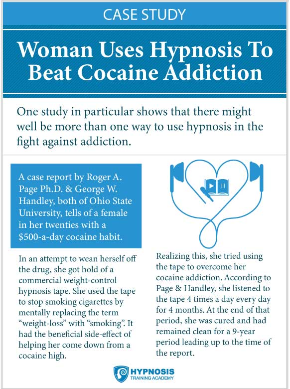 Woman Uses Hypnosis To Beat Cocaine Addiction