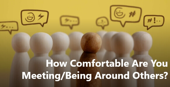 """[VIDEO TRAINING] Deep Conversation Coaching – """"How Comfortable Are You Meeting/Being Around Others?"""""""