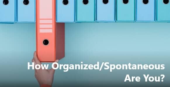 "[VIDEO TRAINING] Deep Conversation Coaching –  ""How Organized/Spontaneous Are You?"""